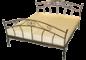 kovové postele