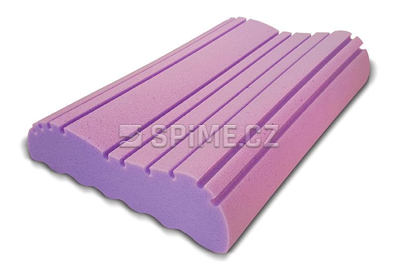 Anatomický polštář VISCO ICE PILLOW SOFT z líné pěny s chladivým efektem