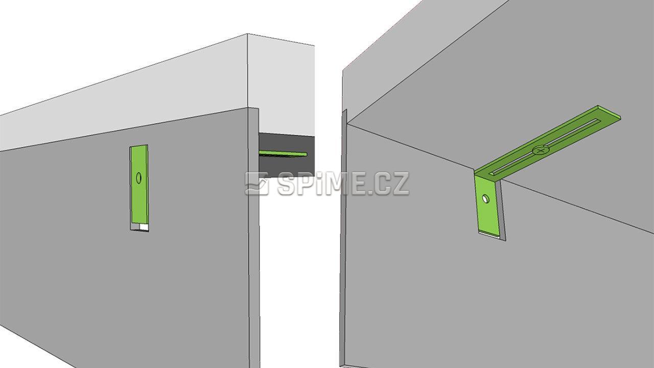 Systém uchycení ke zdi