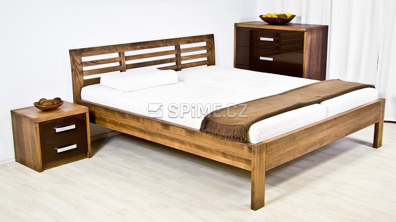 Dřevěná komoda z masivu PORTO 4x zásuvka #05