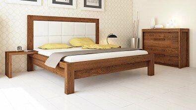 Dřevěná komoda z masivu MODENA, Materiál: Masiv Dub, Odstín: Olej Nuss Braun #02