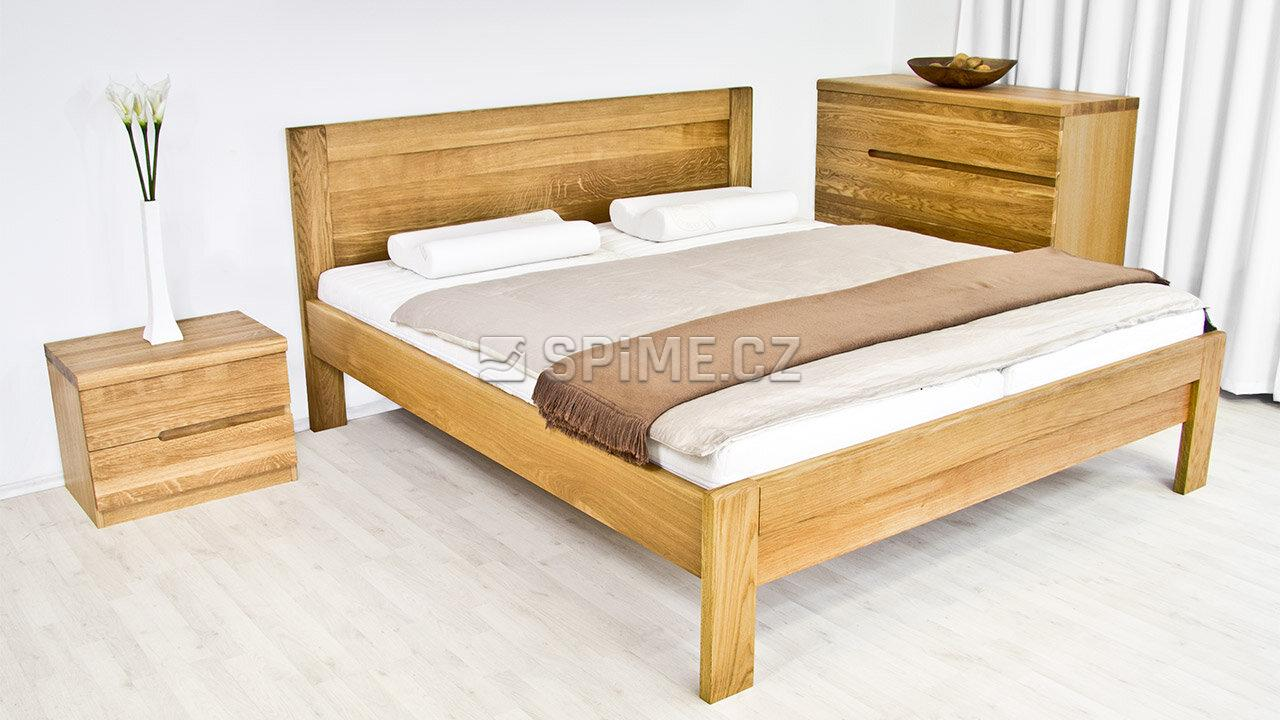Dřevěná komoda z masivu PALERMO, Materiál: Masiv Dub, Odstín: Olej BIOFA Transparent #05