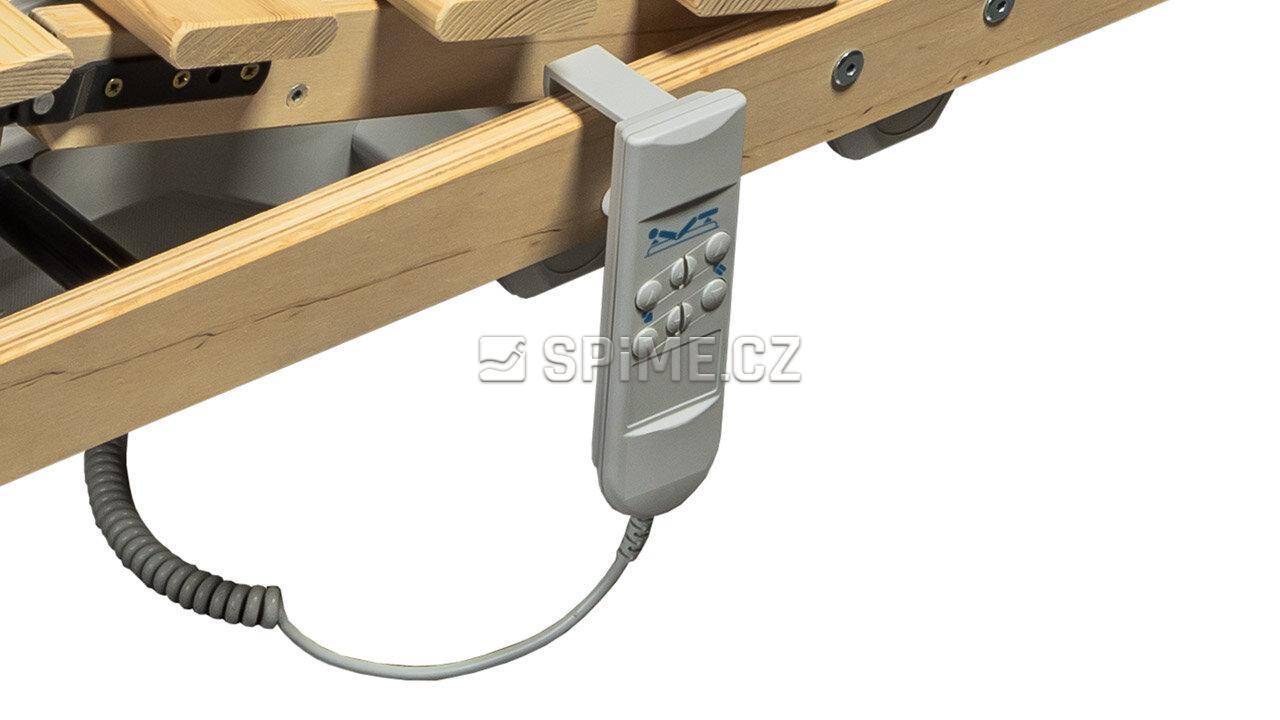 Laťový rošt MASIV 16 motorový, 1 x motor, kabelový ovladač #05