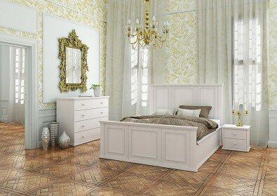 ložnice Palace zámecký styl - Olej BIOFA Nordic White