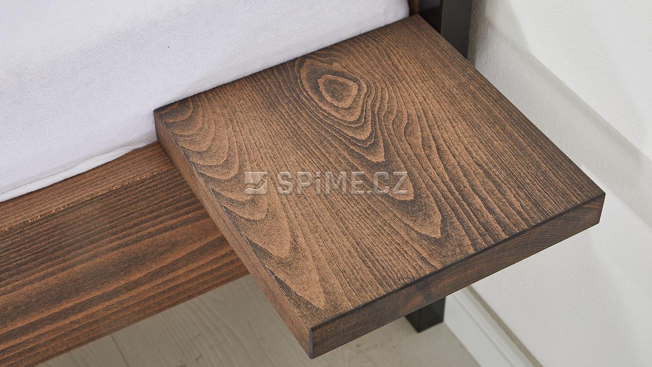 Noční stolek Bonito buk, biofa antracit
