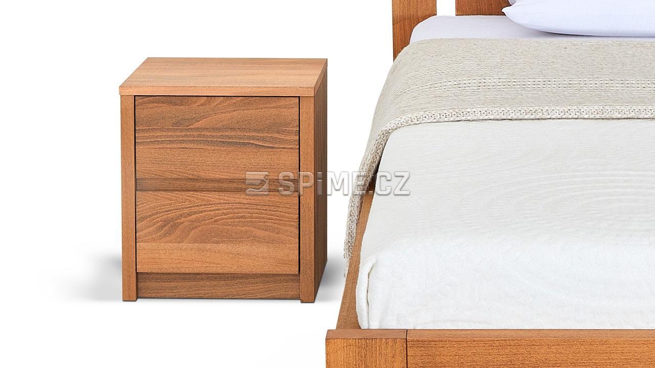 Noční stolek COMODINO DUO, buk