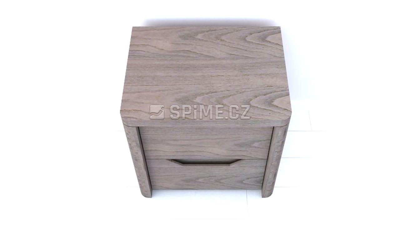 Noční stolek z masivu TENNO Buk