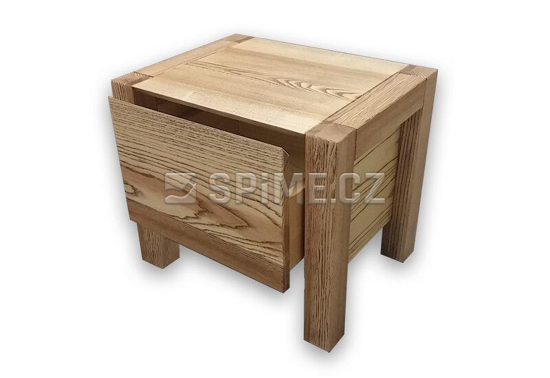 dřevěný Noční stolek z masivu VARIO