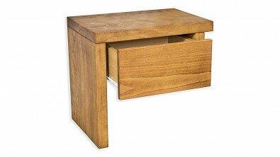 Dřevěný noční stolek z masivu VIENA Buk #02