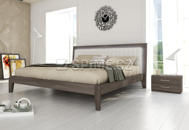 Noční stolek z masivu Bergamo
