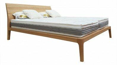Designová postel z masivu GIULIA dvoulůžko