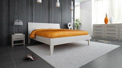 Postel z masivu Ibiza - Olej BIOFA Nordic White