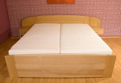 Manželská postel - Olej BIOFA Transparent přírodní odstín
