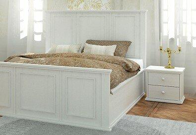 Postel PALACE - Olej BIOFA Nordic White