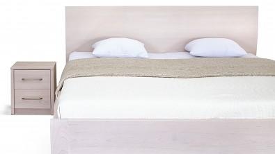 postel s úložným prostorem z masivu buk Ibiza