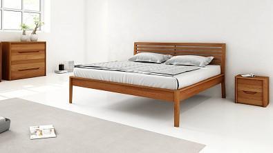 Dřevěná postel z masivu Tenno buk