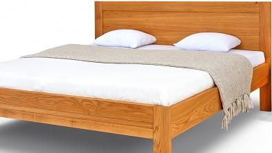 Dřevěná postel z masivu dub ESTER