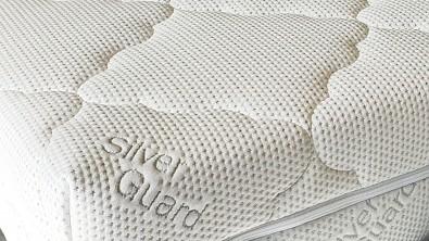 Prošitý potah na matraci se stříbrem SilverGuard