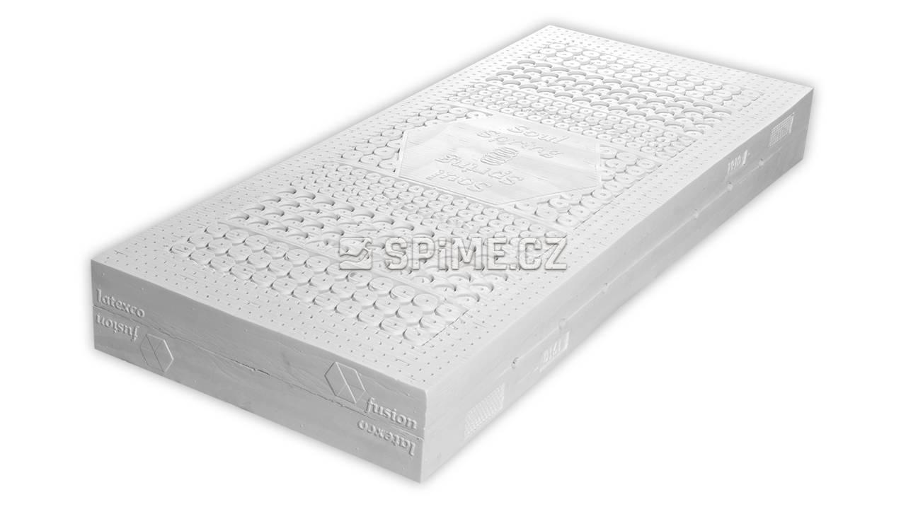 Zdravotní taštičková matrace z latexu SOUL SPRING DUO