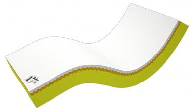 Zdravotní matrace z líné pěny VISCO DE LUXE MEDIUM