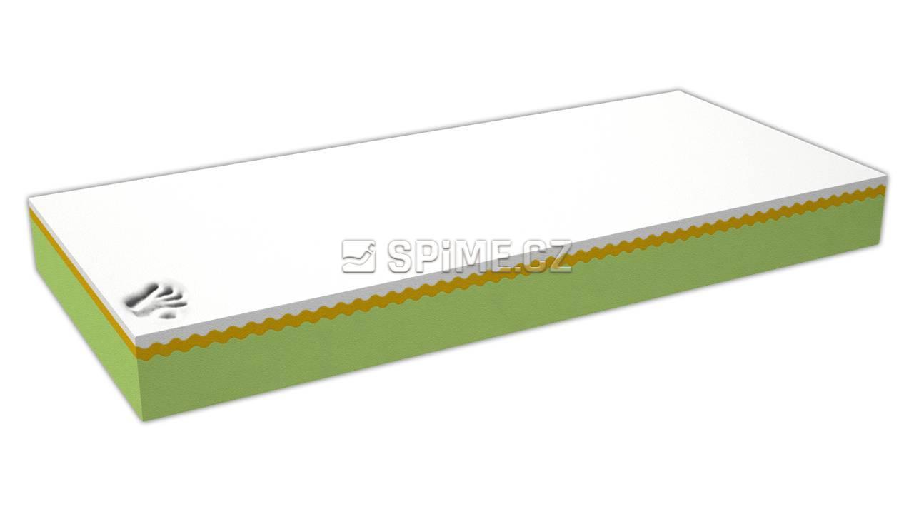 Zdravotní matrace z líné pěny VISCO DE LUXE SOFT