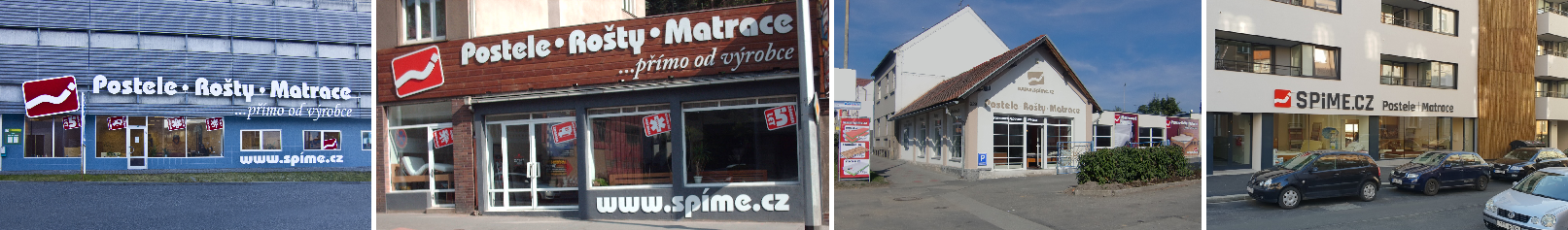 Prodejny Spime.cz Brno Praha Tábor Plzeň