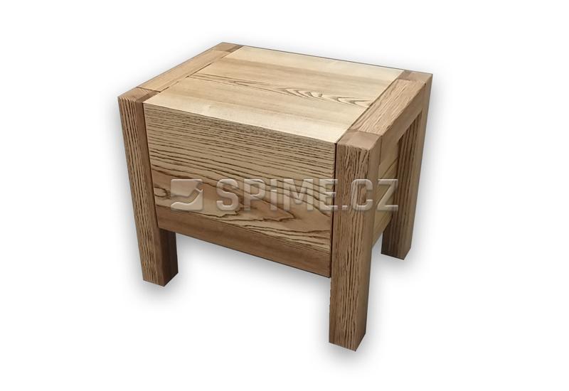 Noční stolek z masivu VARIO