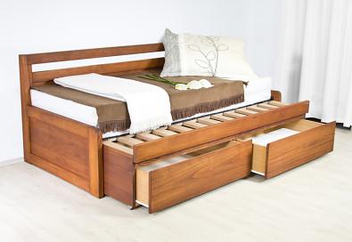 Rozkládací postel z masivu SOFA DUO