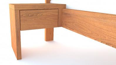 Noční stolek z masivu VIENA