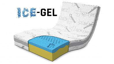 Matrace VISCO ERGO ICE-GEL HARD