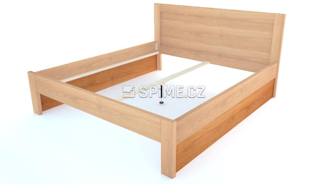 Výplň prostoru - Pod oběma bočnicemi postele