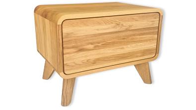 Noční stolek z masivu DEIRA
