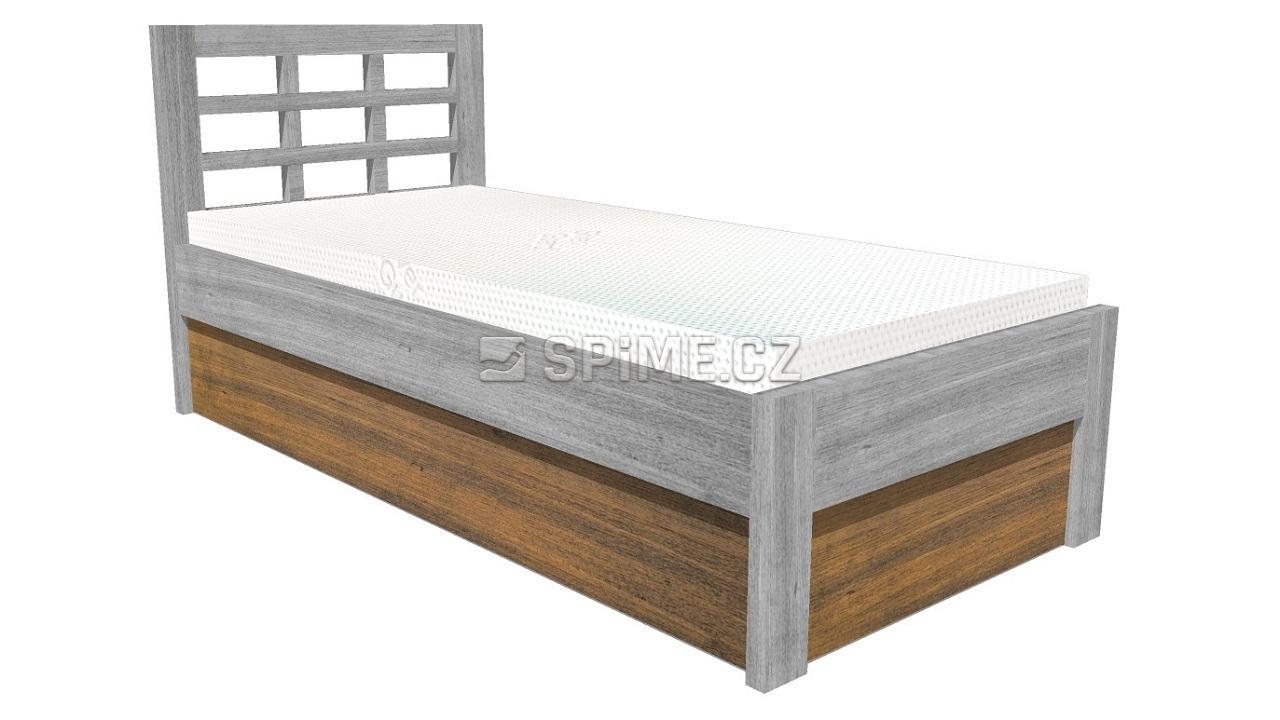 Úložný prostor pod jednolůžko - úprava postele